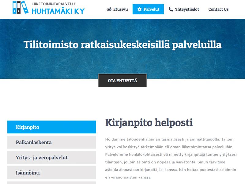 Liiketoimintapalvelu Huhtamäki Ky
