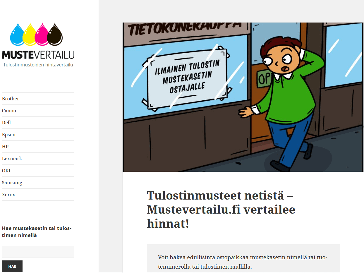 Mustevertailu.fi