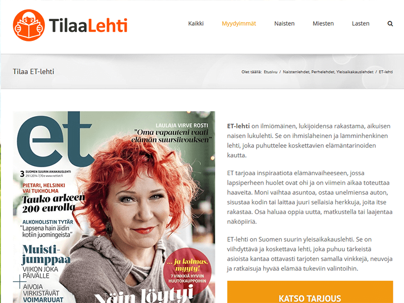TilaaLehti.fi