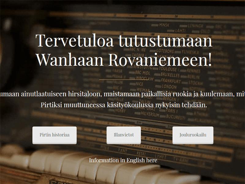 Visit Old Rovaniemi